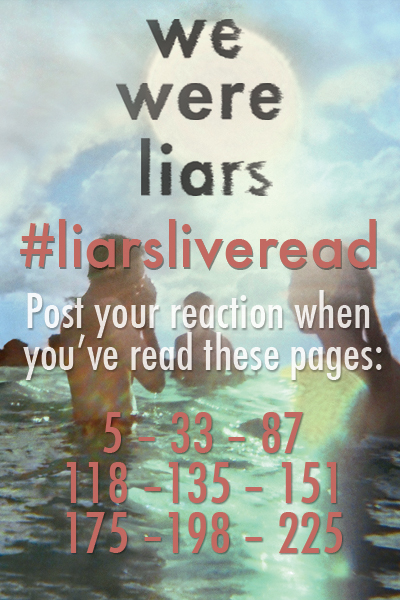 Liars Live Read Pages